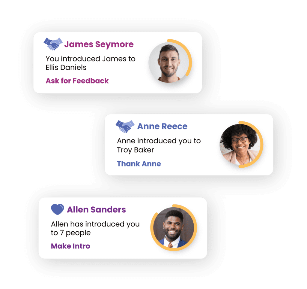 personal relations manager cards